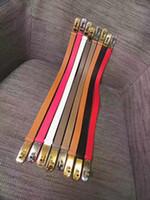 Wholesale Women Width Belt - High quality women belts Key buckle luxury brand belts designer belt imported original genuine leather belt width 2.0cm and with box