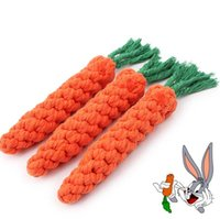 HOT cucina Kid Pet Ball Gioca Clean Denti Dog Knot Carota Giocattolo Per Divertimento Nodo Pet Puppy Toy Corda Cane Cotone Chew Toy