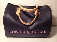Wholesale Medium Makeup Bag - Top quality oxidize cowhide 2016 Fashion Women classic Boston Handbags shoulder bag speedy 30 cm Wristlet 41526 tote makeup bags #29