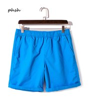 Wholesale Youth Yellow Shorts Wholesale - Wholesale- Phsh High Quality Summer Youth Male and Female casual loose shorts Fashion Lovers Candy Solid Color Quick Drying Beach Shorts