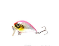 Wholesale Good Quality Lures - fishing lures assorted colors, minnow crank 50mm 8g,magnet system. bearking model crank bait good quality