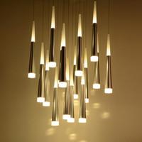 Wholesale kitchen light fixtures online - Modern LED Pendant Lamps Iron Metal Light Fixtures Fashion Bedroom Decorative Restaurant Dining Kitchen Pendant Lamps