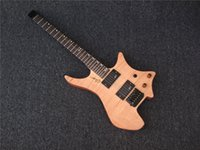 Wholesale Headless Electric Guitars - Wholesale-new style! natura electric guitar Headless electric guitar, solid body electric guitar Free shipping direct from factory