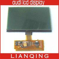 Wholesale Audi A4 Trim - Gooe Price A3 A4 A6 VDO LCD Display For Audi Lcd Display 10pcs lot free ship