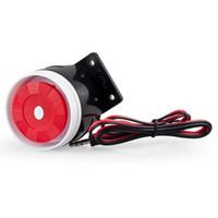 alarme de zone à la maison achat en gros de-LS111- Nouveau Mini Sirène Filaire Pour Mon 99 Zones PSTN / GSM Sans Fil Alarme À Domicile Système de Sécurité 120 dB Alarme Accessoires Sirène