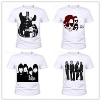 Wholesale Che Guevara Shirts - New Fashion Mens Womans Metallica The Beatles Nirvana Guns N' Roses Che Guevara T-Shirt Unisex 3D Print Casual T-Shirt AA373