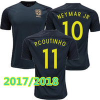 397c248930 Soccer Men Short new Brazil jersey 2017 2018 Soccer jersey Camisa de  futebol Brasil Neymar Oscar