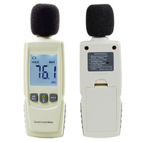 Medidor de nivel de sonido digital Medidor de ruido digital Pantalla LCD Audio Voice Describe Meter 30--130dB en Decibel LCD Analyzer Tester