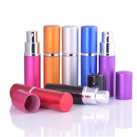Wholesale Cosmetic Containers For Sale - Hot Sale Mini Portable For Travel Aluminum Refillable Perfume Bottle With Spray&Empty Cosmetic Containers With Atomizer