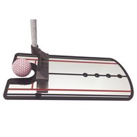 Wholesale golf swing guide - Golf Training Mirror Putting Aid Practice Eyeline Alignment Putter Swing Trainer Posture Correction Guide Mirrors Top Quality Gift 36ef F