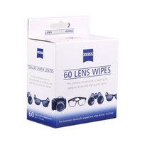 Wholesale Pre Clean - Wholesale- Free shipping 60 counts lint and ammonia-free pre-moistened Zeiss camera lens cleaner