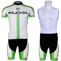 2017 Kuota Cycling Jersey Set (bib) Shorts Short Sleeves Cycle Bike Shirt Homens de alta qualidade pro Bicycle Clothing Summer ropa ciclismo C2913