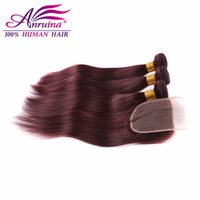 Wholesale Virgin Straight Hair Bundle Sales Closure in Bulk from ...