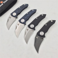 Wholesale bears claws resale online - Free delivery BEAR CLAW PARROT New arrival folding knife D2 blade G10 handle outdoor camping hunting pocket fruit knives Survival EDC tools