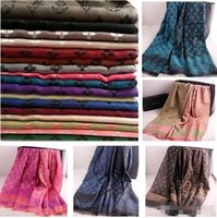 Wholesale Designers Scarves Women - Hot sale ! FREE SHIPPING 2017 Women New Arrival Fashion Brand Designer Silk Scarf Women Double Light Style Fringe Scarf And Long Shawl