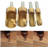 Wholesale Construction Pieces - Titanium Plug Cutter Set 6-16mm 4 piece Hole Wood Drills Power Tools DIY U25 Hand Tools