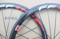 ingrosso ruote in carbonio pieno 38 mm-La bicicletta della strada delle ruote del carbonio del clincher di 38mm FFWD spinge le ruote della bici della strada del carbonio di larghezza 700C di larghezza di 23mm Trasporto libero