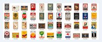 Wholesale Restaurant Oil - Champion Shell Motor Oil Garage Route 66 Retro Vintage TIN SIGN Old Wall Metal Painting ART Bar, Man Cave, Pub, restaurant home Decoration