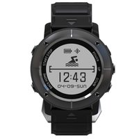 Новый Uwear UW80 1.2 '' OLED Нержавеющая сталь Smart Bluetooth V4.0 GPS-часы Outdoor Sport 10M Waterproof Calls Message Reminder.