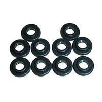 Wholesale Wholesale Washer Machine Parts - Wholesale-100 Tattoo Machine #8 black Shoulder Washers Binder Parts