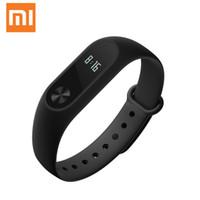 xiaomi mi stock al por mayor-Al por mayor-Original Xiaomi Mi Band 2 Miband Band2 Pulsera pulsera con Smart Touch Fitness Touchpad OLED en Stock!