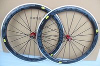 Wholesale Cheapest Carbon Road Bike Wheels - cheapest alu alloy bike wheelset, 50mm ,700C road bike wheels,carbon wheel glossy finish