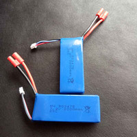 Wholesale Lipo Battery Syma - 2000mAh 2S 7.4V 25C Lipo Battery Helicopter Battery Syma X8C X8W X8G X8HC X8HW X8HG with voltage protection board Quadcopter Drone