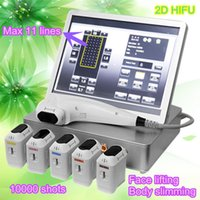 Wholesale Ultrasound Skin Tightening - 2017 The Latest Portable Anti Aging Wrinkle Removal Skin Tightening Facial Hifu Equipment High Intensity Focused Ultrasound 2D HIFU Machine