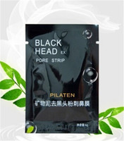 Wholesale Charcoal Remove Blackhead - Wholesale-5pcs lot New Arrival Practical Charcoal Blackhead Removing Nose Mask Paster Beautifying Sticker blackhead cleaner mask Y2