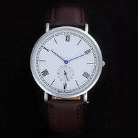 Wholesale Hot Sale Dresses For Work - Hot sale Casual Men's Luxury brand watch Leather & Stainless Steel band Quartz watches Small Diall Works Wristwatches For men man clock 2017