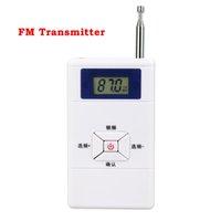 Wholesale Personal Portable Radios - Wholesale-10pcs Portable Mini FM Transmitter Personal Radio Station Stereo Audio Converter 70MHz-108MHz Y4309B