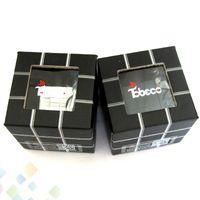 Wholesale Square Rubik - Rubik RDA Cube Square Cubic Shape airflow contol Rebuildable Atomizer with Wide Bore Drip Tip Cube RDA Rubik Fit 510 Mod DHL Free