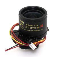 auto-zoom-kameras cctv großhandel-Neue 4-9mm Auto Varifokal Fixed Iris Infrarot CCTV Kamera Zoom Board Objektiv für CCTV IP Kamera