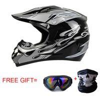 Wholesale Helmet Atv - Wholesale- Classic Motocross Helmets ATV MTB Racing helmet Motorcycle downhill bike helmet Fuera de la carretera casco+ goggles+mask