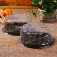 Wholesale Big Cake Boxes - wholesale big round cake box  8 inches cheese box  clear plastic cake container   big cake holder Free Shipping