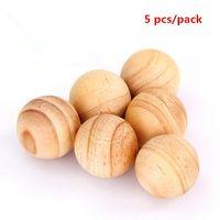 Wholesale Cedar Balls - Natural Cedar Wood Moth Balls Camphor Repellent Wardrobe Clothes Drawer Free Shipping Wood Camphor Bug Repellent