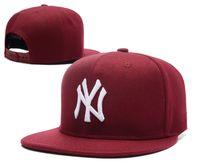 Wholesale Casual Cool Sport Women - Yankees Hip Hop MLB Baseball Hats Snapback NY Caps Adjustable Cool Men Casual MLB Team Logo Outdoor Unisex Sports New York Women Casquette
