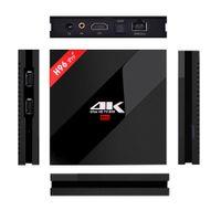 nueva caja de tv al por mayor-Configuración alta Android 7.1 TV Boxes H96 Pro plus Amlogic S912 Octa-Core 3GB 16GB 2.4G / 5.8GHz Wifi El más nuevo reproductor Smart Media H96 Pro +