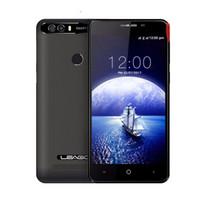 Wholesale leagoo phone online - Leagoo Kiicaa Power MT6580A Quad Core Dual Rear Cam Android Mobile Phone GB RAM GB ROM Fingerprint Smartphone