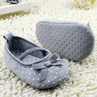 Wholesale Low Price Toddler Shoes - Wholesale- Lowest Price High Quality Girls Newborn Baby Prewalker Princess Shoes Infant Toddler Butterfly Flower First Walkers Shoes
