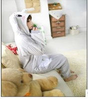 Wholesale Elephant Adult Pajamas - Unisex adult and kids flannel animal Pajamas one piece Pyjama Suits womens pijamas elephant sleep tops cosplay costume Onesies Robe