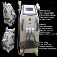 Wholesale Laser Machine For Scars - Touch screen nd yag laser beauty machine OPT SHR Pigments Removal Scar Acne removal laser hair removal for beauty spa