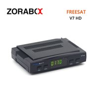 Wholesale Satellite Receiver Usb Pvr - Freesat V7 HD DVB-S2 Free To Air Digital Satellite Receiver Support PowerVu Bisskey Cccam Newcam Youtube Youporn Usb Wifi PVR Ready