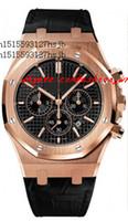 Wholesale Watch Dials Seller - Factory Seller Factory Seller Luxury Watches Wristwatch OR.OO.D002CR.01 18kt Rose Gold Black Dial Japan Quartz Men's Dive Watches