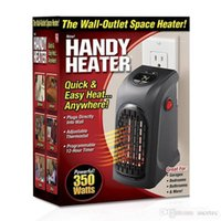 Wholesale Heater Bathroom - Mini Handy Heater Plug-in Personal Heater Home Use The Wall-outlet Space Heater 350W Handy Heaters US EU UK Plug