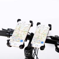 klips bisiklet gidonları toptan satış-JEREFISH Bisiklet Aksesuarları Gidon Klip Montaj Dirseği Cep Telefonu Bisiklet Tutucu iPhone 5 5 s 6 6 s artı Samsung Kılıf için Standı