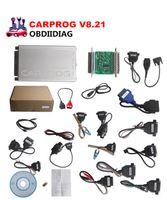 Wholesale Chip Tuning Carprog - Carprog Full V8.21 with All 21 Adapters Including Full Functions Carprog V8.21 ECU Chip Tuning Tool Carprog
