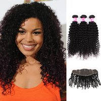 Brazilian wavy curly hair weave uk free uk delivery on brazilian natural color 1b 100g curly virgin brazilian afro curly wavy hair bundles with lace frontal closure pmusecretfo Images