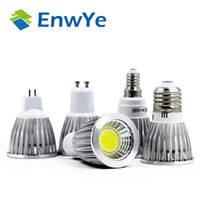 Atacado 10PCS Ultra Bright 3W 5W 7W AC85 ~ 265V E27 E14 GU10 MR16 12V Lâmpadas LED Spotlight COB led Lâmpadas Lâmpadas Bombillas Lamparas