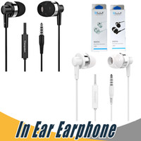 Wholesale Black Apple Computer - Langsdom JD89 Universal Earphone 3.5mm Stereo Earphone Bass For iPhone 7 Samsung Cell Phone MP3 MP4 Computer with Retail Package